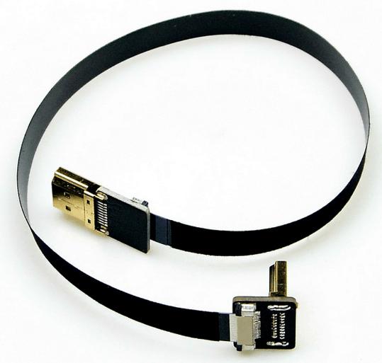 Шлейф HDMI.