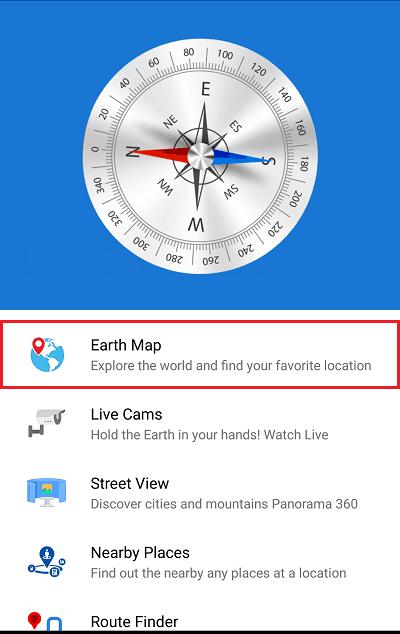 Россия живая карта Земли - спутниковый вид интерфейс.