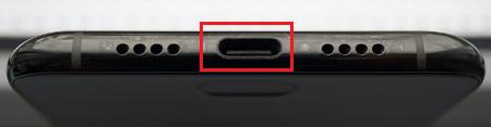 Гнездо USB-C.