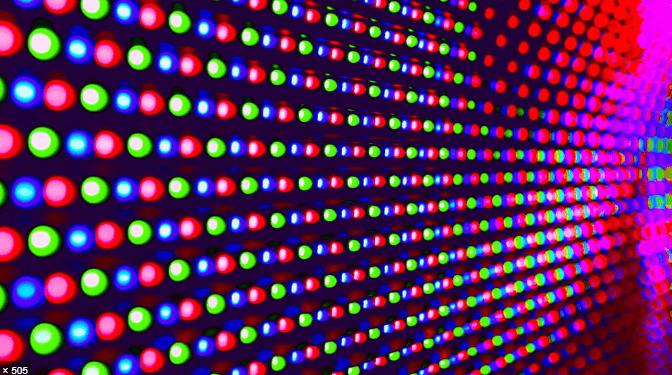 Матрица светодиодов.