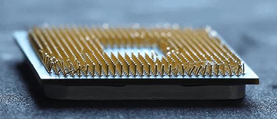 Гнутые ножки процессора.