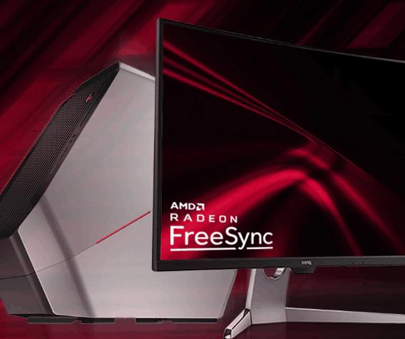 Монитор с AMD Freesync.